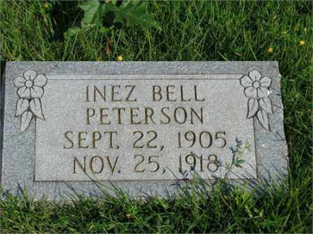 PETERSON, INEZ BELL - Searcy County, Arkansas | INEZ BELL PETERSON - Arkansas Gravestone Photos