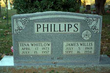 PHILLIPS, JAMES WILLIS - Searcy County, Arkansas | JAMES WILLIS PHILLIPS - Arkansas Gravestone Photos