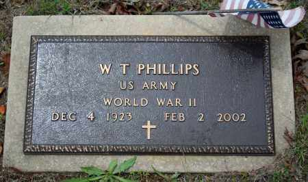 PHILLIPS (VETERAN WWII), W  T - Searcy County, Arkansas | W  T PHILLIPS (VETERAN WWII) - Arkansas Gravestone Photos