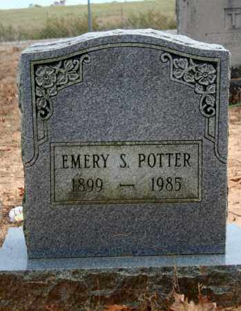 POTTER, EMERY SPEAR - Searcy County, Arkansas | EMERY SPEAR POTTER - Arkansas Gravestone Photos