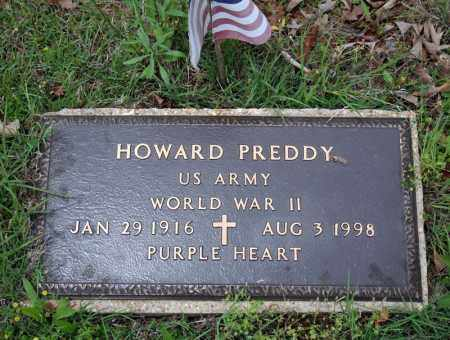 PREDDY (VETERAN WWII), HOWARD - Searcy County, Arkansas | HOWARD PREDDY (VETERAN WWII) - Arkansas Gravestone Photos