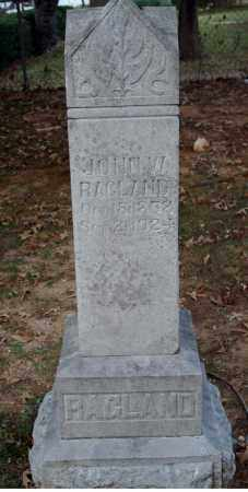 RAGLAND, JOHN W. - Searcy County, Arkansas | JOHN W. RAGLAND - Arkansas Gravestone Photos