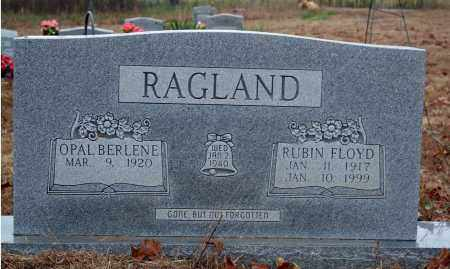 RAGLAND, RUBIN FLOYD - Searcy County, Arkansas | RUBIN FLOYD RAGLAND - Arkansas Gravestone Photos