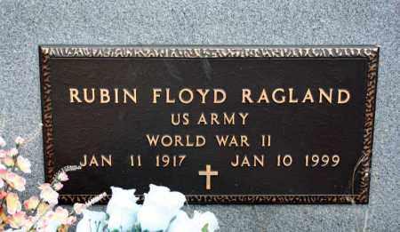 RAGLAND (VETERAN WWII), RUBIN FLOYD - Searcy County, Arkansas | RUBIN FLOYD RAGLAND (VETERAN WWII) - Arkansas Gravestone Photos