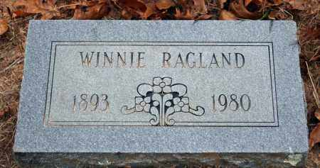 GILLIAM RAGLAND, WINNIE - Searcy County, Arkansas | WINNIE GILLIAM RAGLAND - Arkansas Gravestone Photos