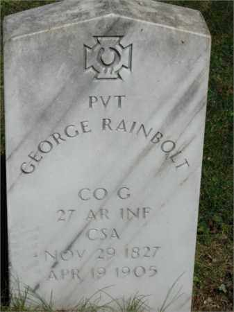 RAINBOLT (VETERAN CSA), GEORGE - Searcy County, Arkansas | GEORGE RAINBOLT (VETERAN CSA) - Arkansas Gravestone Photos