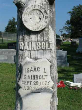 RAINBOLT, ISAAC L. - Searcy County, Arkansas | ISAAC L. RAINBOLT - Arkansas Gravestone Photos