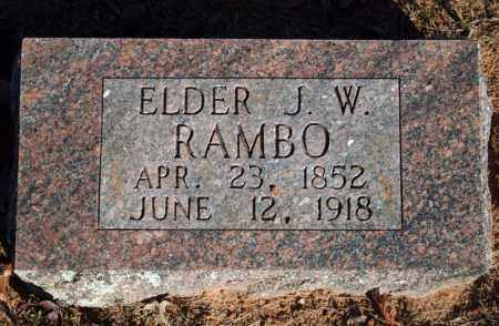 "RAMBO, JOEL WESLEY ""WES"" - Searcy County, Arkansas 