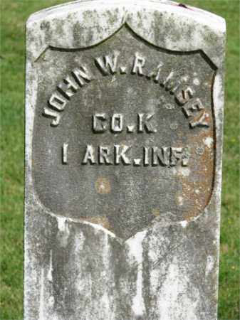RAMSEY (VETERAN UNION), JOHN W - Searcy County, Arkansas | JOHN W RAMSEY (VETERAN UNION) - Arkansas Gravestone Photos