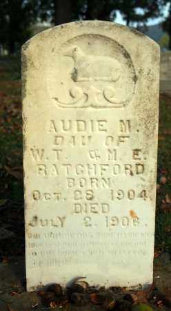 RATCHFORD, AUDIE M. 1 - Searcy County, Arkansas | AUDIE M. 1 RATCHFORD - Arkansas Gravestone Photos