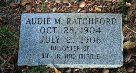 RATCHFORD, AUDIE M. 2 - Searcy County, Arkansas | AUDIE M. 2 RATCHFORD - Arkansas Gravestone Photos