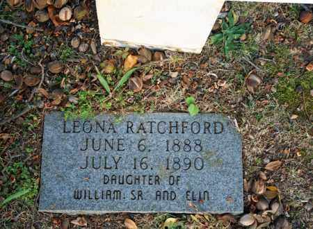 RATCHFORD, LEONA 2 - Searcy County, Arkansas | LEONA 2 RATCHFORD - Arkansas Gravestone Photos