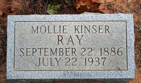 KINSER RAY, MOLLIE - Searcy County, Arkansas | MOLLIE KINSER RAY - Arkansas Gravestone Photos