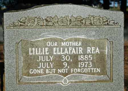 MCDANIEL REA, LILLIE ELLAFAIR - Searcy County, Arkansas | LILLIE ELLAFAIR MCDANIEL REA - Arkansas Gravestone Photos