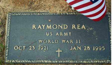 REA (VETERAN WWII), RAYMOND - Searcy County, Arkansas | RAYMOND REA (VETERAN WWII) - Arkansas Gravestone Photos