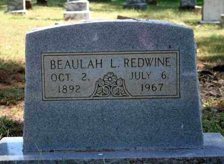 REDWINE, BEAULAH L. - Searcy County, Arkansas | BEAULAH L. REDWINE - Arkansas Gravestone Photos