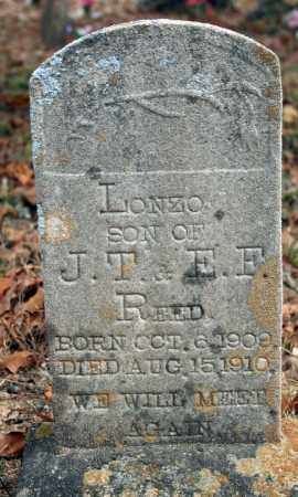 REED, LONZO - Searcy County, Arkansas | LONZO REED - Arkansas Gravestone Photos