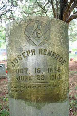 RENFROE, JOSEPH A. - Searcy County, Arkansas | JOSEPH A. RENFROE - Arkansas Gravestone Photos
