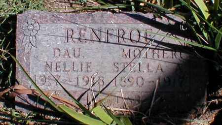 RENFROE, NELLIE - Searcy County, Arkansas | NELLIE RENFROE - Arkansas Gravestone Photos