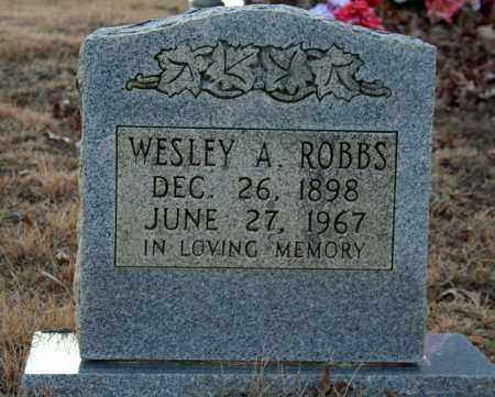 ROBBS, WESLEY ALLEN - Searcy County, Arkansas | WESLEY ALLEN ROBBS - Arkansas Gravestone Photos