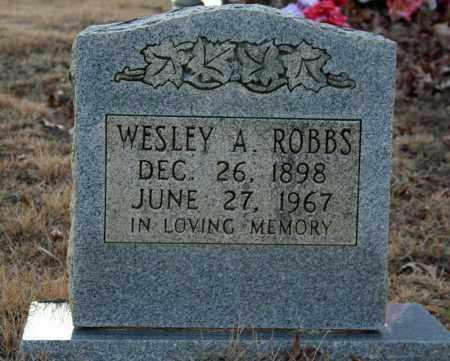 ROBBS, WESLEY ALLEN - Searcy County, Arkansas | WESLEY ALLEN ROBBS - Arkansas Gravestone Photos