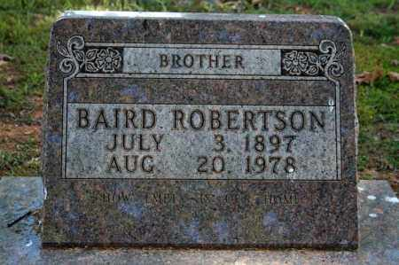 ROBERTSON, BAIRD - Searcy County, Arkansas | BAIRD ROBERTSON - Arkansas Gravestone Photos