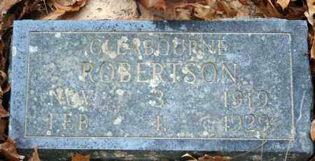 ROBERTSON, CLEABOURNE - Searcy County, Arkansas | CLEABOURNE ROBERTSON - Arkansas Gravestone Photos