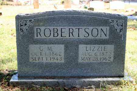 ROBERTSON, G. M. - Searcy County, Arkansas | G. M. ROBERTSON - Arkansas Gravestone Photos