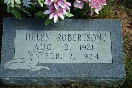 ROBERTSON, HELEN - Searcy County, Arkansas | HELEN ROBERTSON - Arkansas Gravestone Photos