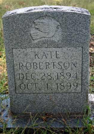ROBERTSON, KATE - Searcy County, Arkansas | KATE ROBERTSON - Arkansas Gravestone Photos