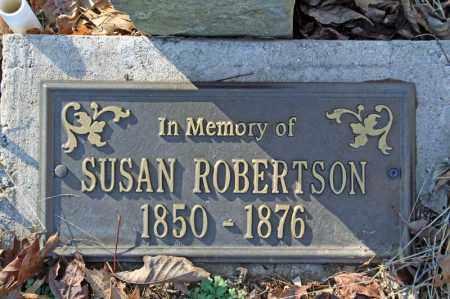 ROBERTSON, SUSAN - Searcy County, Arkansas | SUSAN ROBERTSON - Arkansas Gravestone Photos