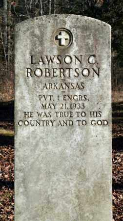 ROBERTSON (VETERAN), LAWSON C - Searcy County, Arkansas | LAWSON C ROBERTSON (VETERAN) - Arkansas Gravestone Photos
