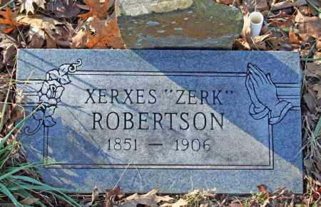 "ROBERTSON, XERXES ""ZERK"" - Searcy County, Arkansas 