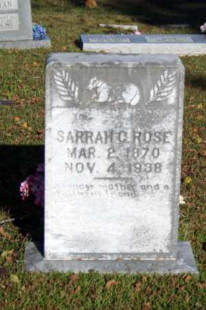 ROSE, SARRAH  C. - Searcy County, Arkansas | SARRAH  C. ROSE - Arkansas Gravestone Photos