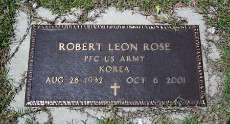 ROSE (VETERAN KOR), ROBERT LEON - Searcy County, Arkansas | ROBERT LEON ROSE (VETERAN KOR) - Arkansas Gravestone Photos