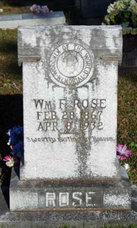 ROSE, WM. F. - Searcy County, Arkansas | WM. F. ROSE - Arkansas Gravestone Photos