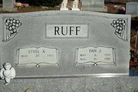 RUFF, DAN JAMES - Searcy County, Arkansas | DAN JAMES RUFF - Arkansas Gravestone Photos