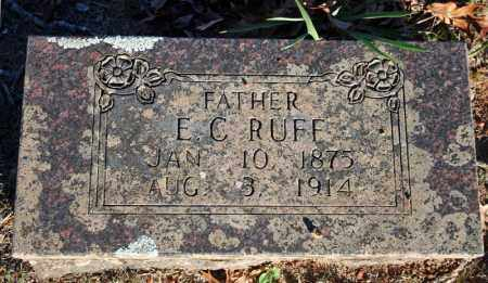 RUFF, ELLIOT CHESLEY - Searcy County, Arkansas | ELLIOT CHESLEY RUFF - Arkansas Gravestone Photos
