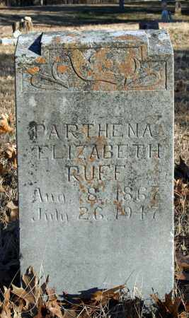 RUFF, PARTHENA ELIZABETH - Searcy County, Arkansas | PARTHENA ELIZABETH RUFF - Arkansas Gravestone Photos