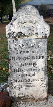 RUFF, SAMUEL T. - Searcy County, Arkansas | SAMUEL T. RUFF - Arkansas Gravestone Photos