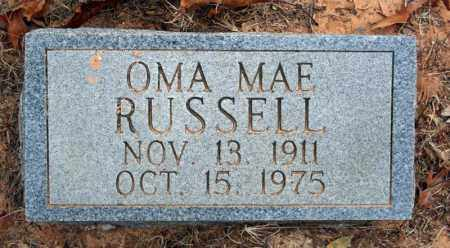 REYNOLDS RUSSELL, OMA MAE - Searcy County, Arkansas | OMA MAE REYNOLDS RUSSELL - Arkansas Gravestone Photos