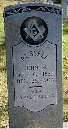 RUSSELL, JOHN M - Searcy County, Arkansas | JOHN M RUSSELL - Arkansas Gravestone Photos