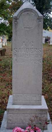 SANDERS, A.C. - Searcy County, Arkansas | A.C. SANDERS - Arkansas Gravestone Photos