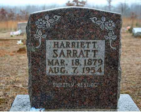 SARRATT, HARRIETT JEANE (MILAM) - Searcy County, Arkansas   HARRIETT JEANE (MILAM) SARRATT - Arkansas Gravestone Photos