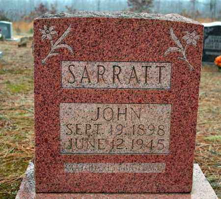 SARRATT, JOHN - Searcy County, Arkansas | JOHN SARRATT - Arkansas Gravestone Photos