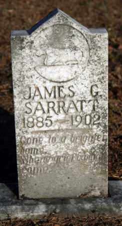 SARRATT, JAMES G. - Searcy County, Arkansas | JAMES G. SARRATT - Arkansas Gravestone Photos