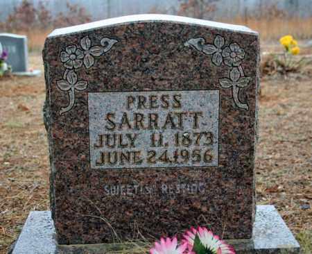 "SARRATT, ABSALOM ""PRESS"" - Searcy County, Arkansas | ABSALOM ""PRESS"" SARRATT - Arkansas Gravestone Photos"