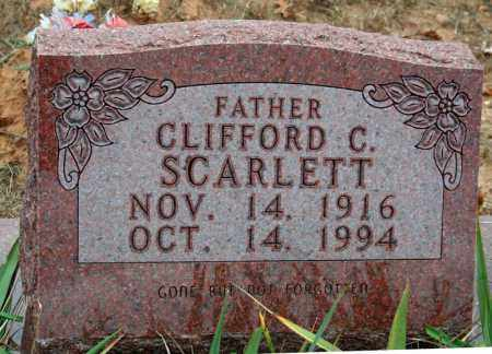 SCARLETT, CLIFFORD C. - Searcy County, Arkansas | CLIFFORD C. SCARLETT - Arkansas Gravestone Photos