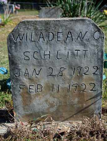 SCHLITT, WILADEAN C. - Searcy County, Arkansas | WILADEAN C. SCHLITT - Arkansas Gravestone Photos