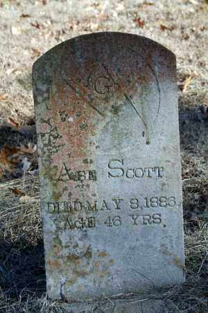 SCOTT, ABE - Searcy County, Arkansas | ABE SCOTT - Arkansas Gravestone Photos